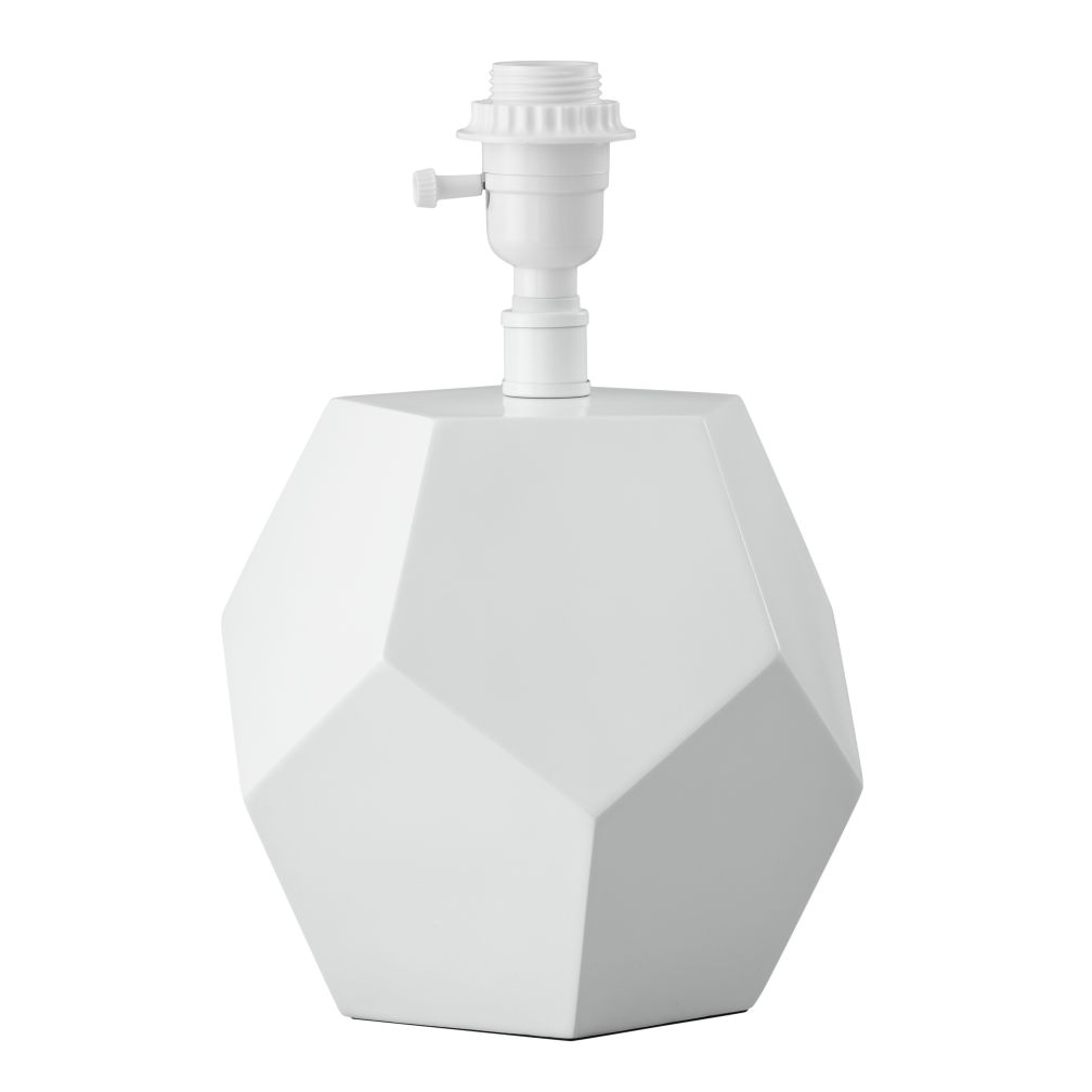 Between a Rock Lamp Base (White)