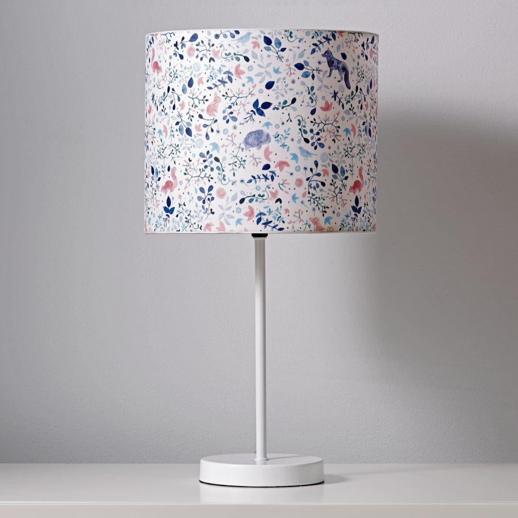Printed Table Lamp Shade (Nature)