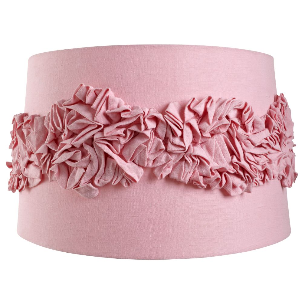 Ruffled Floor Shade (Pink)