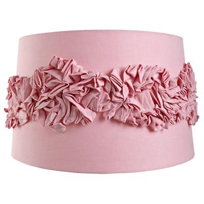 Ruffled Floor Shade (Pink)