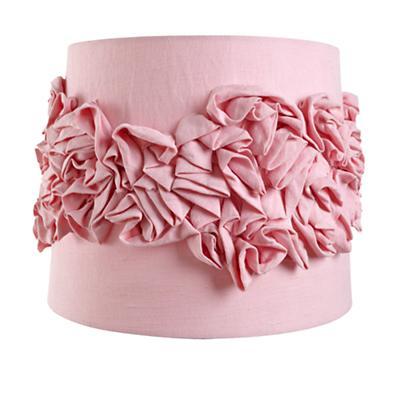 Ruffled Table Shade (Pink)