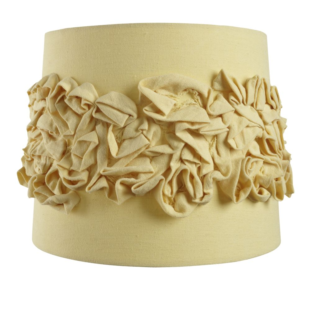 Ruffled Table Shade (Yellow)