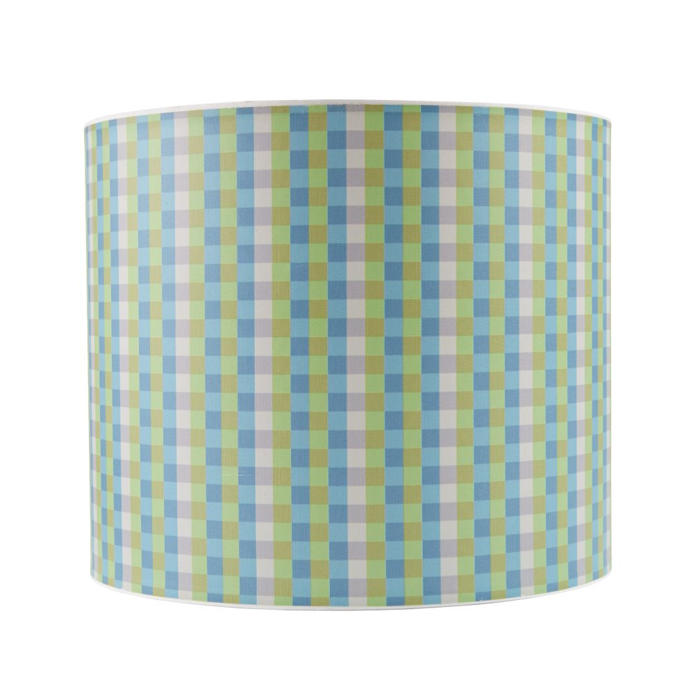 Printed Table Lamp Shade (Gingham)