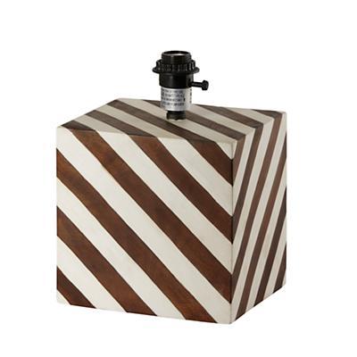 Modern Cube Lamp Base