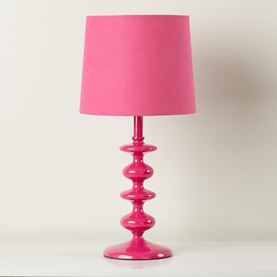 Checkmate Table Lamp Base (Pink)