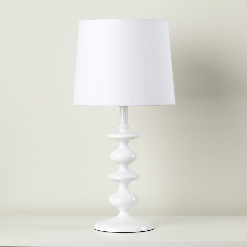 Checkmate Table Lamp Base (White)