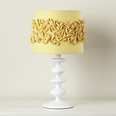Ruffled and Ready Table Shade (Yellow)