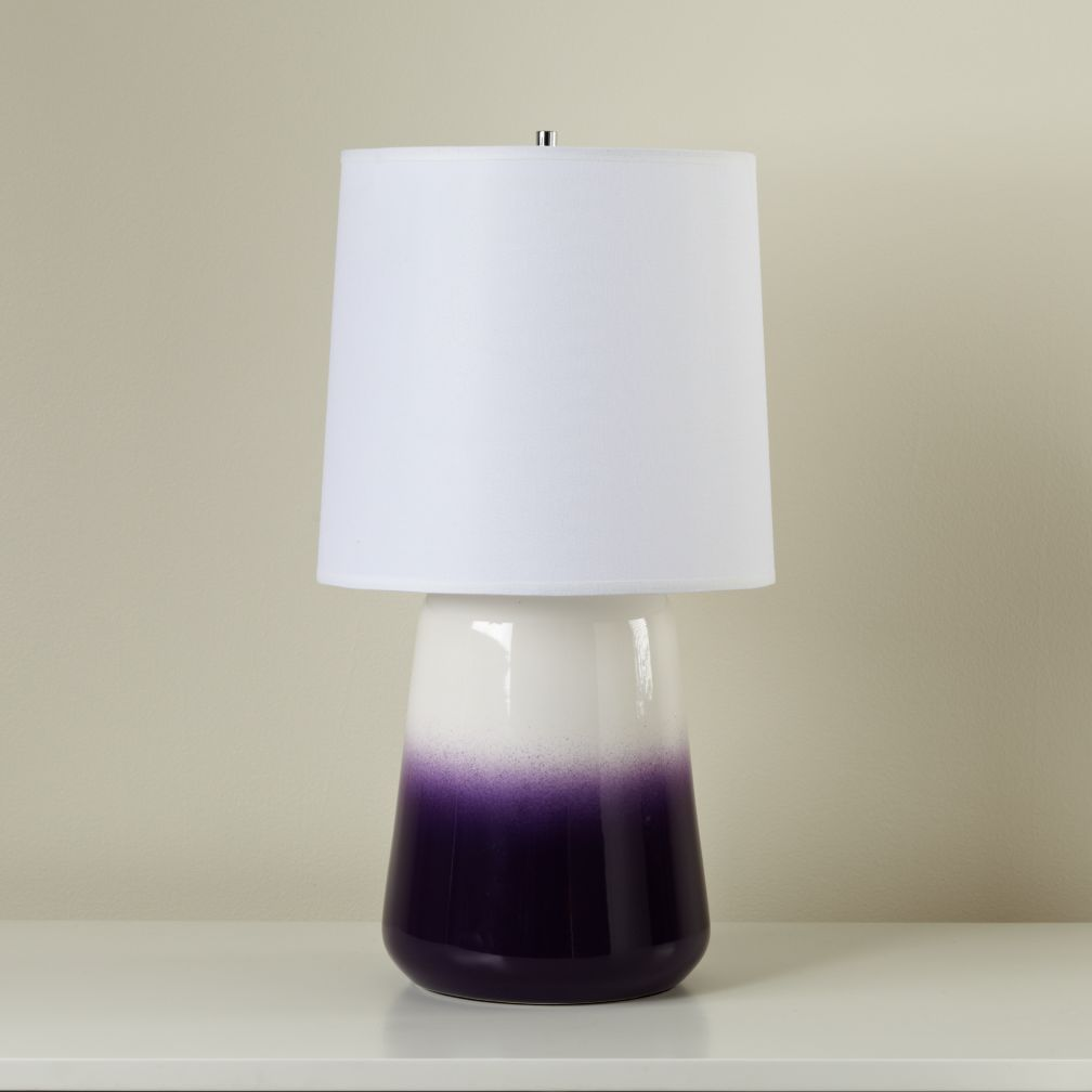 Gumdrop Table Lamp (Purple)