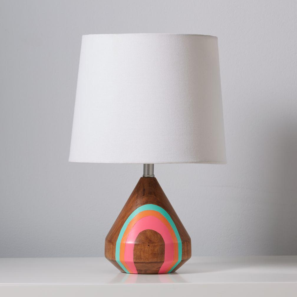 Natural Color Table Lamp Base (Pink)