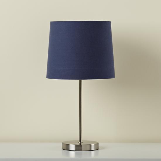 hangin 39 around pendant lamp dk blue the land of nod. Black Bedroom Furniture Sets. Home Design Ideas