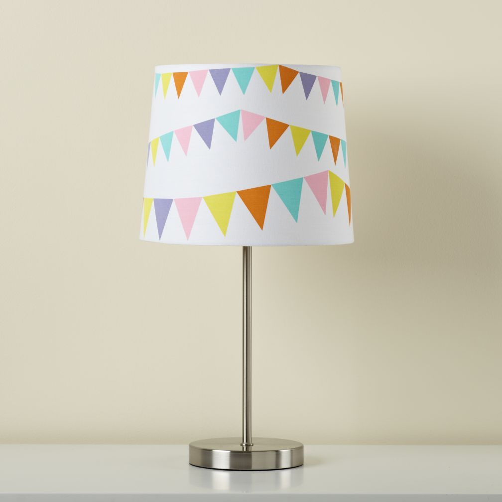 Pennant Table Shade (Shown with Nickel Base)