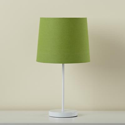 Light Years Green Table Shade and White Base
