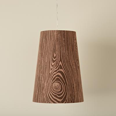 Woodgrain Pendant Lamp