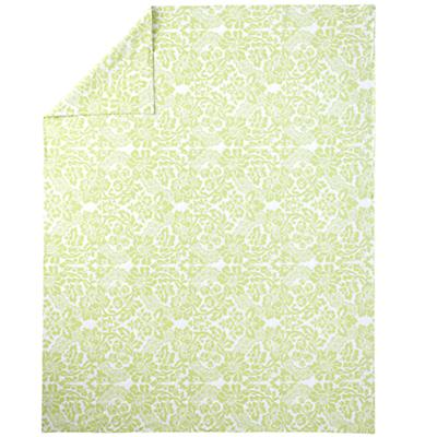 With a Flourish Green Duvet Cover (Twin)