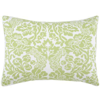 Green Floral Sham