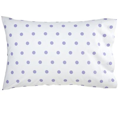 Lavender Pastel Dots Pillowcase
