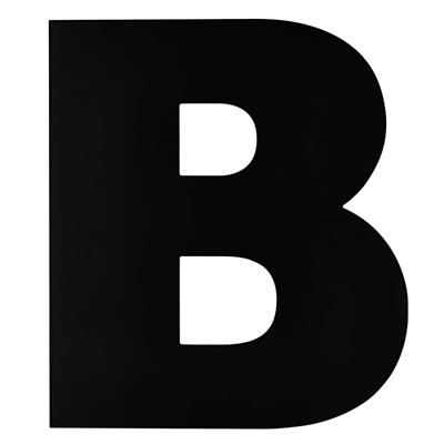 Not Giant Enough Letter B