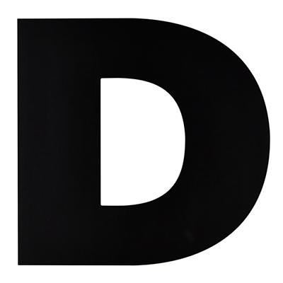 Not Giant Enough Letter D