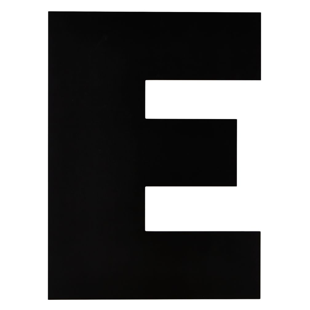 Not Giant Enough Letter E