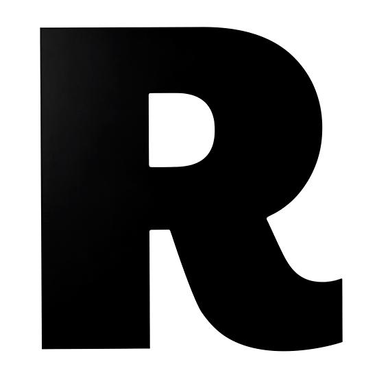 Not Giant Enough Letter R in Wall Letters | The Land of Nod