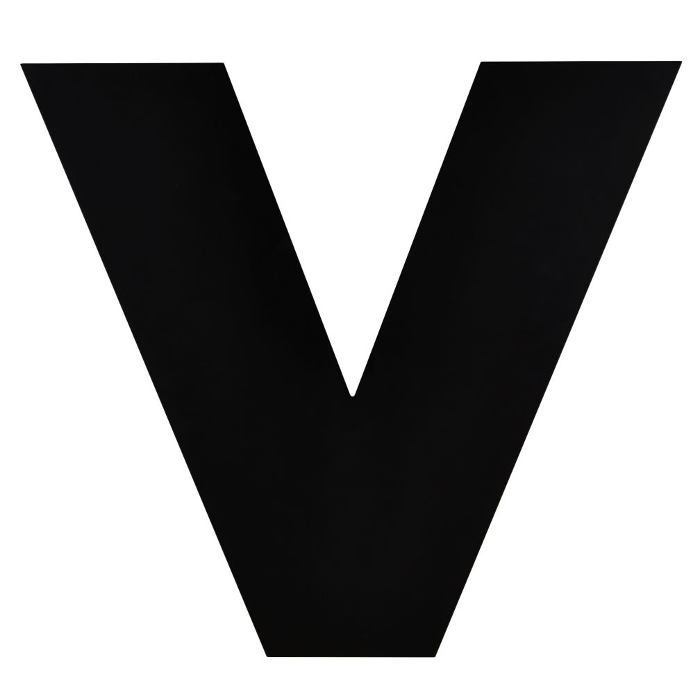Not Giant Enough Letter V