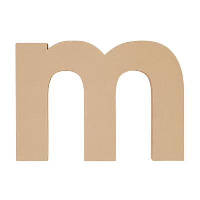 Large M Crafty Kraft Paper Letter