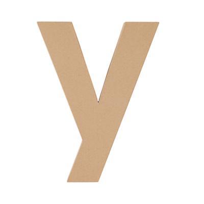 Large Y Crafty Kraft Paper Letter