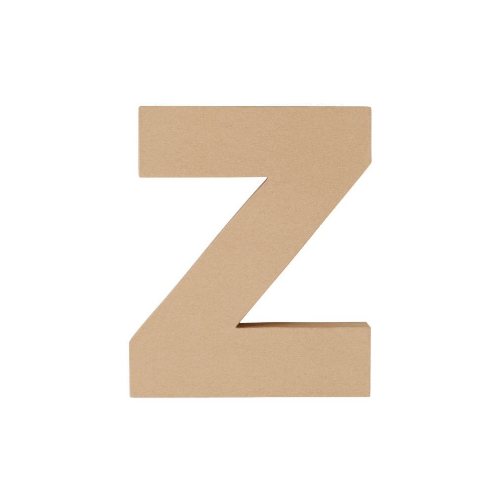 Large Z Crafty Kraft Paper Letter
