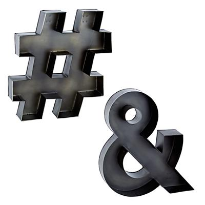 Letter_Metal_Ampersand_Letter_Group_LL