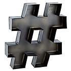 #  Magnificent Metal Hashtag