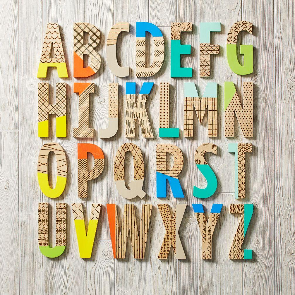 Wood Shop Letters