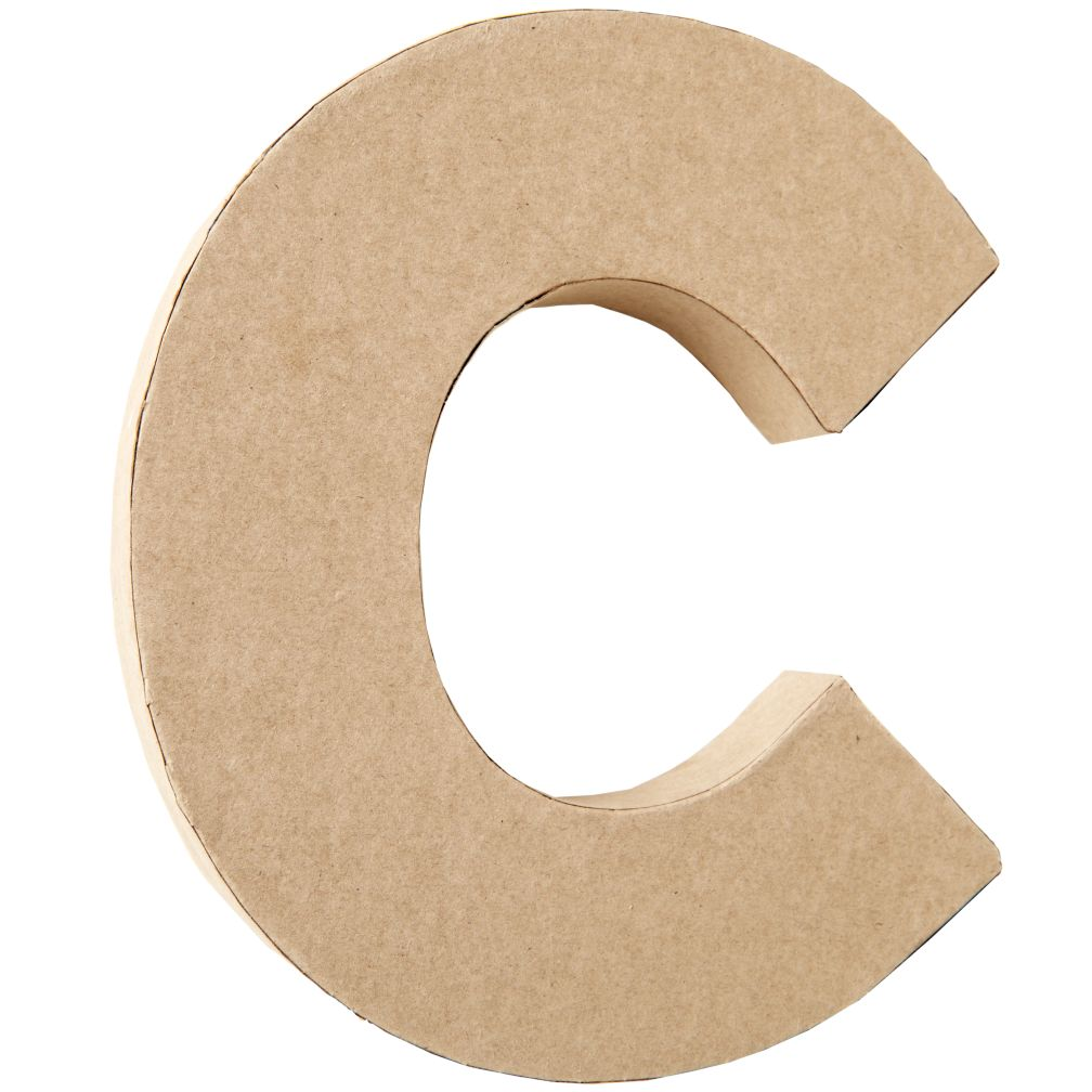 C Crafty Kraft Paper Letter