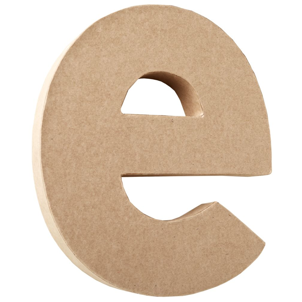 E Crafty Kraft Paper Letter