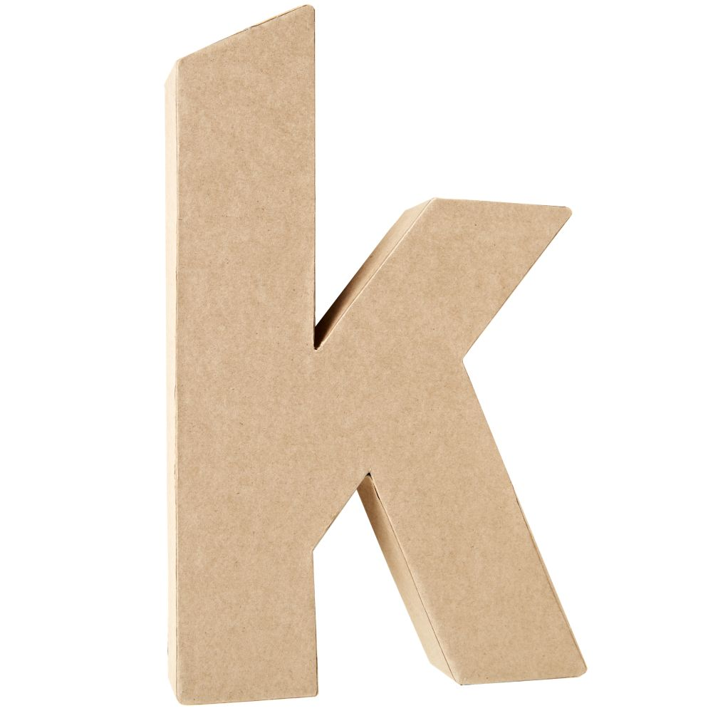 K Crafty Kraft Paper Letter