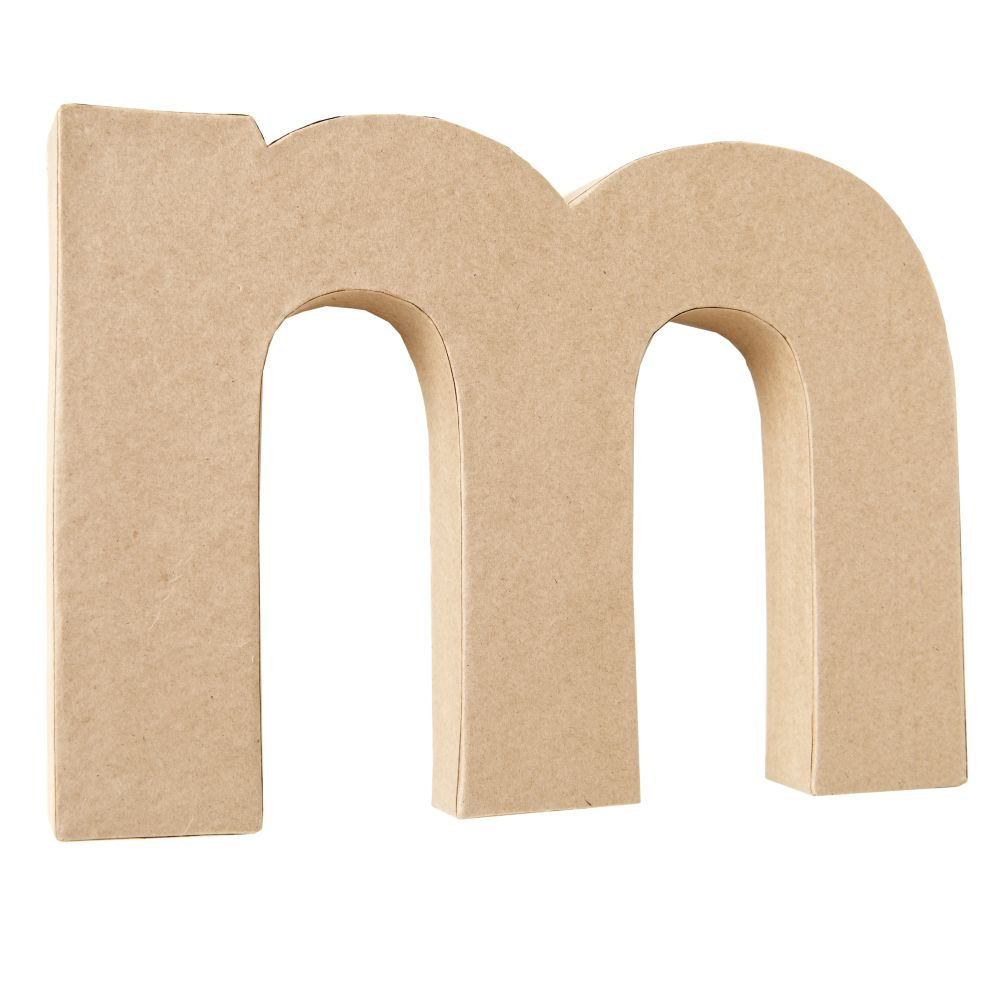 M Crafty Kraft Paper Letter