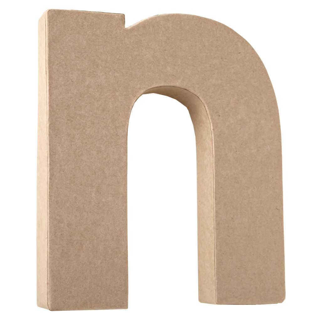 N Crafty Kraft Paper Letter