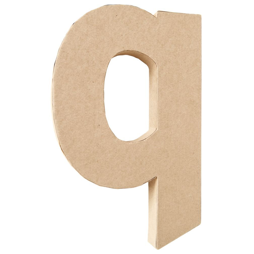 Q Crafty Kraft Paper Letter