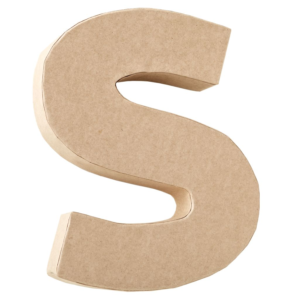 S Crafty Kraft Paper Letter
