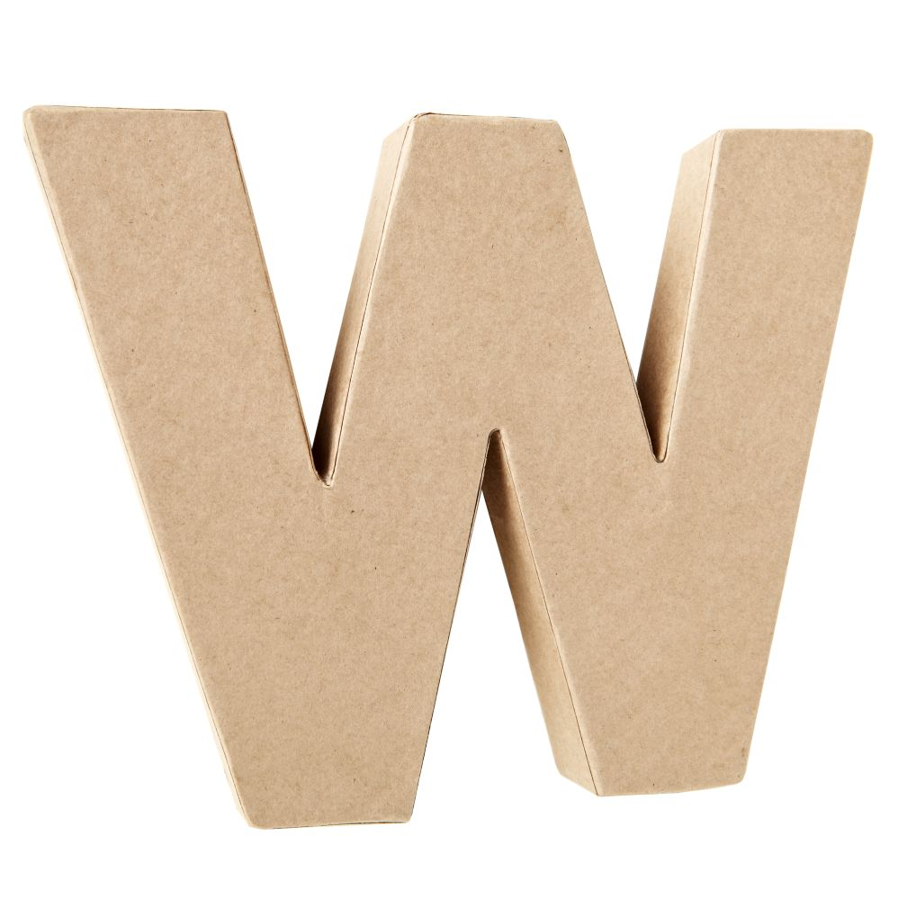 W Crafty Kraft Paper Letter