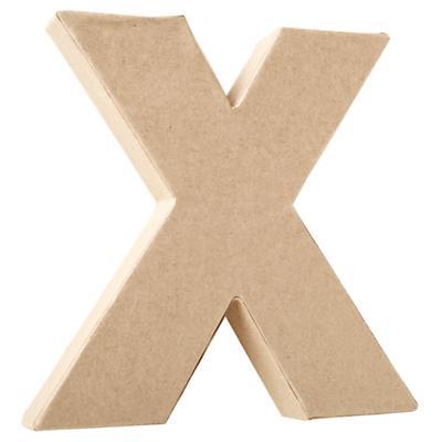 X Crafty Kraft Paper Letter