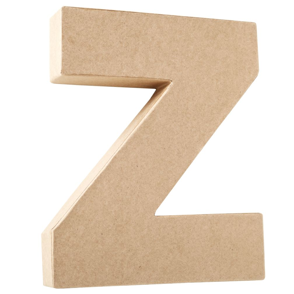 Z Crafty Kraft Paper Letter