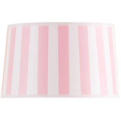 Pink Stripe Floor Shade