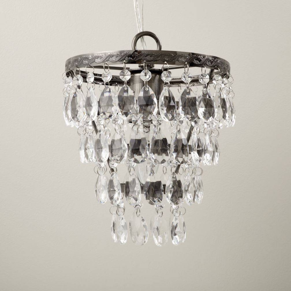 Top Tier Beaded Chandelier