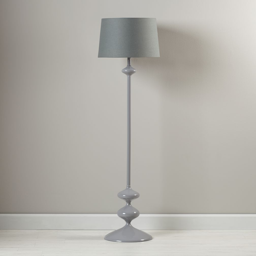 Checkmate Floor Lamp Base (Grey)