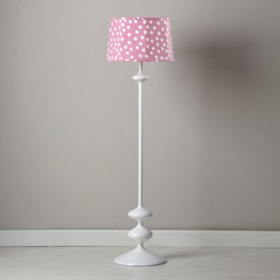 Spots and Dots Floor Shade (Pink/White)