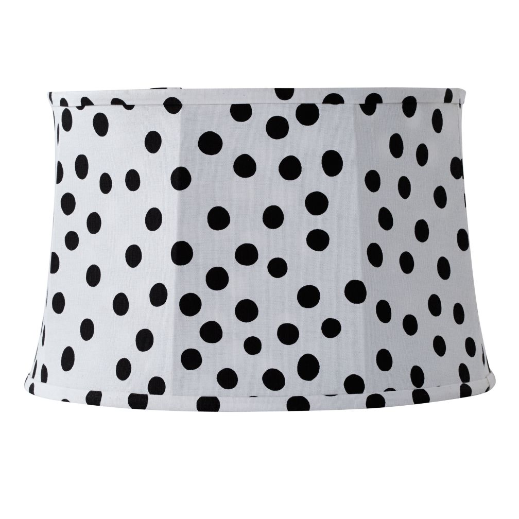 Spots and Dots Table Shade (White/Black)