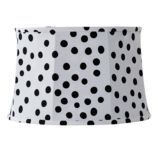Spots and Dots Floor Shade (White/Black)