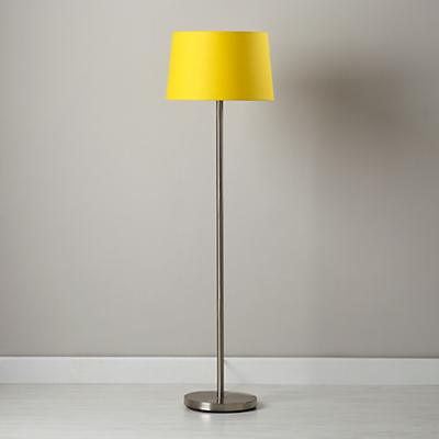 Light Years Yellow Floor Shade and Nickel Base