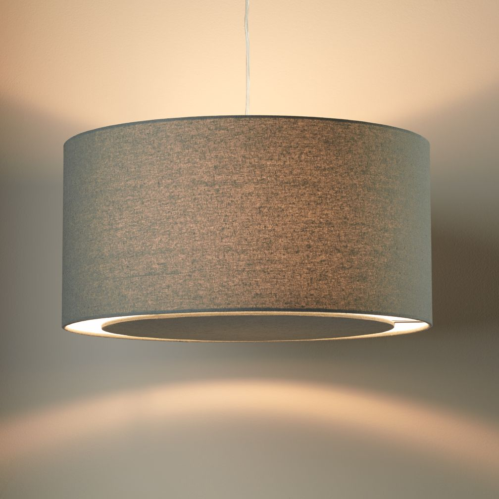 Grey Hangin' Around Ceiling Lamp