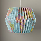 World Map Looseleaf Pendant Shade